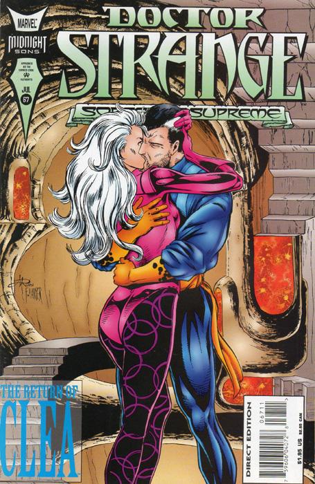 Doctor Strange 67 cover