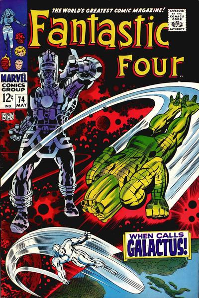 Fantastic Four 74 cover