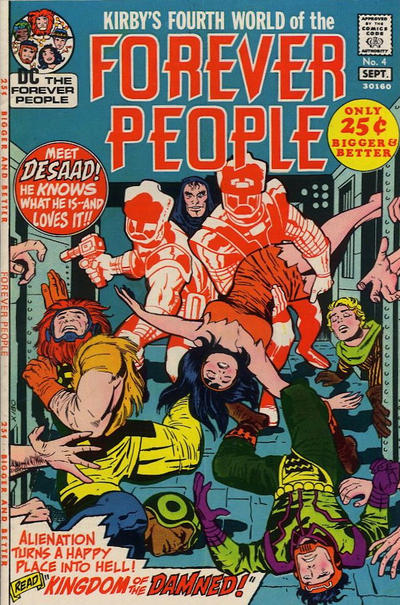Forever People 4 cover