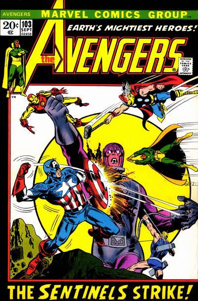 Avengers 103 cover