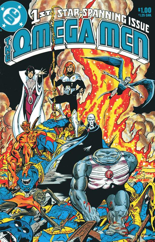 Omega Men 1 cover