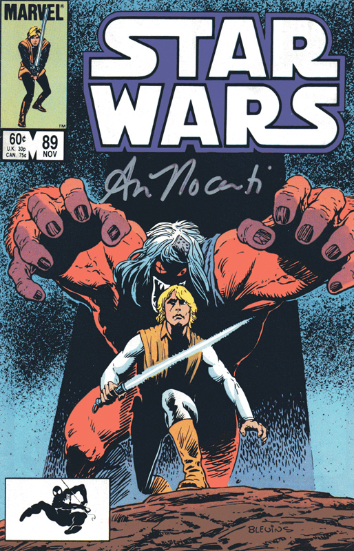 Star Wars 89 cover signed