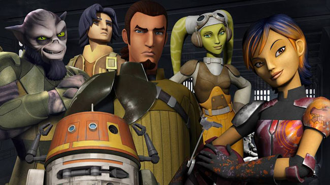 Rebels characters
