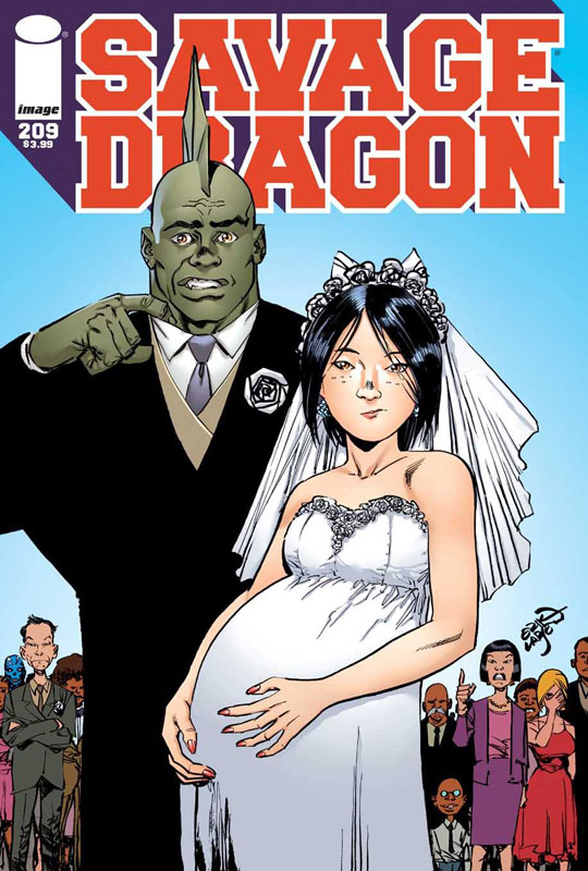 Savage Dragon 209 cover