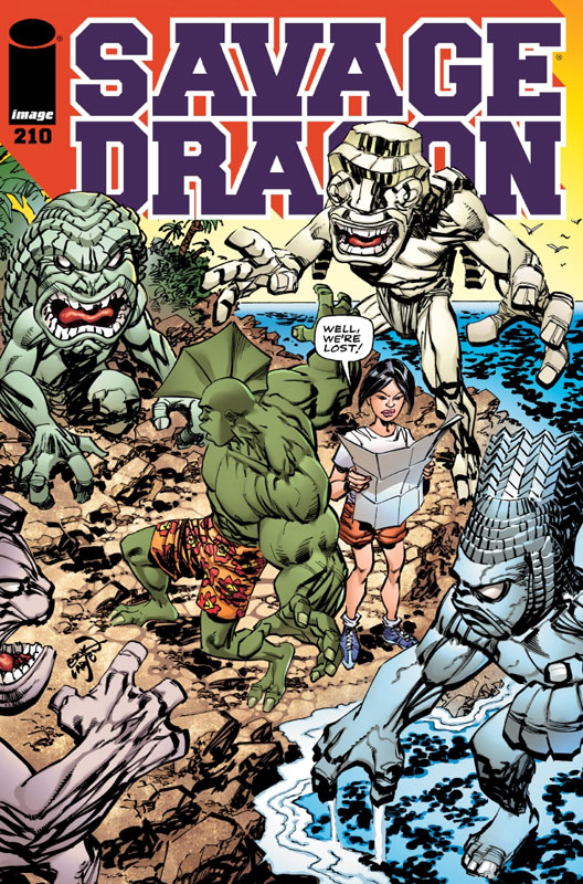 Savage Dragon 210 cover