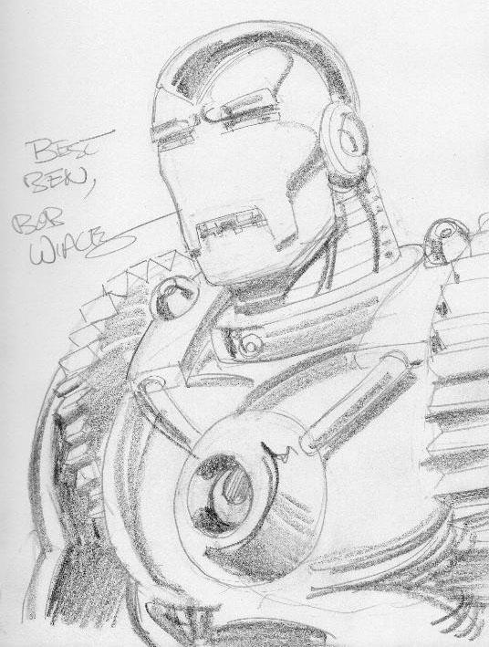 Iron Man 2020 by Bob Wiacek
