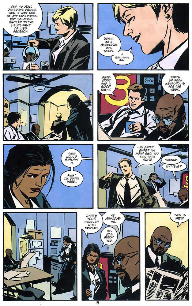 Gotham Central 6 pg 5